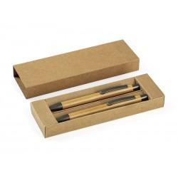 drvena hemijska i tehnička olovka u setu - BAMBOO