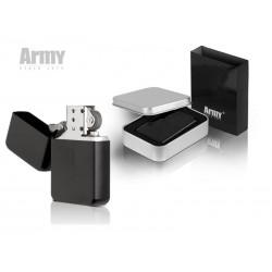 metalni upaljač u poklon kutiji - ARMY 100