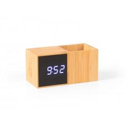 digitalni stoni lcd sat sa držačem za olovke - GRID