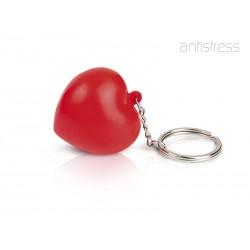 privezak sa antistres lopticom - HEART MINI