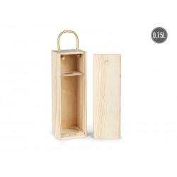 drvena poklon kutija za flašu - BORDO