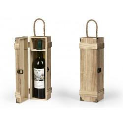 drvena poklon kutija za flašu - BAROQUE