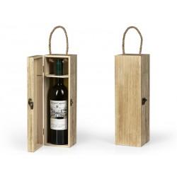 drvena poklon kutija za flašu - MUSCAT