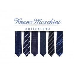 poklon set od 6 kravata - BRUNO AZZURRO