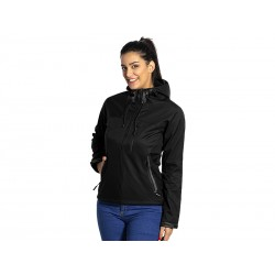 ženska softšel jakna sa kapuljačom - BLACK PEAK WOMEN
